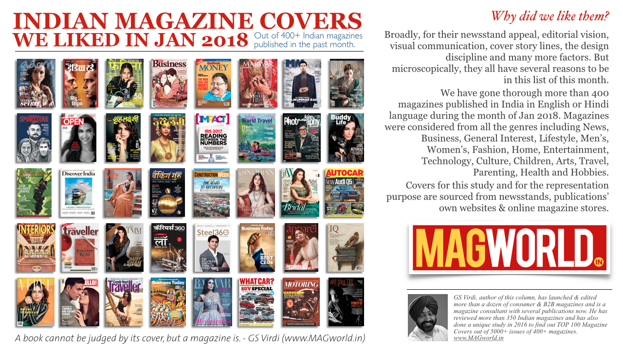 Indian Magazine Covers We Liked in Jan 2018