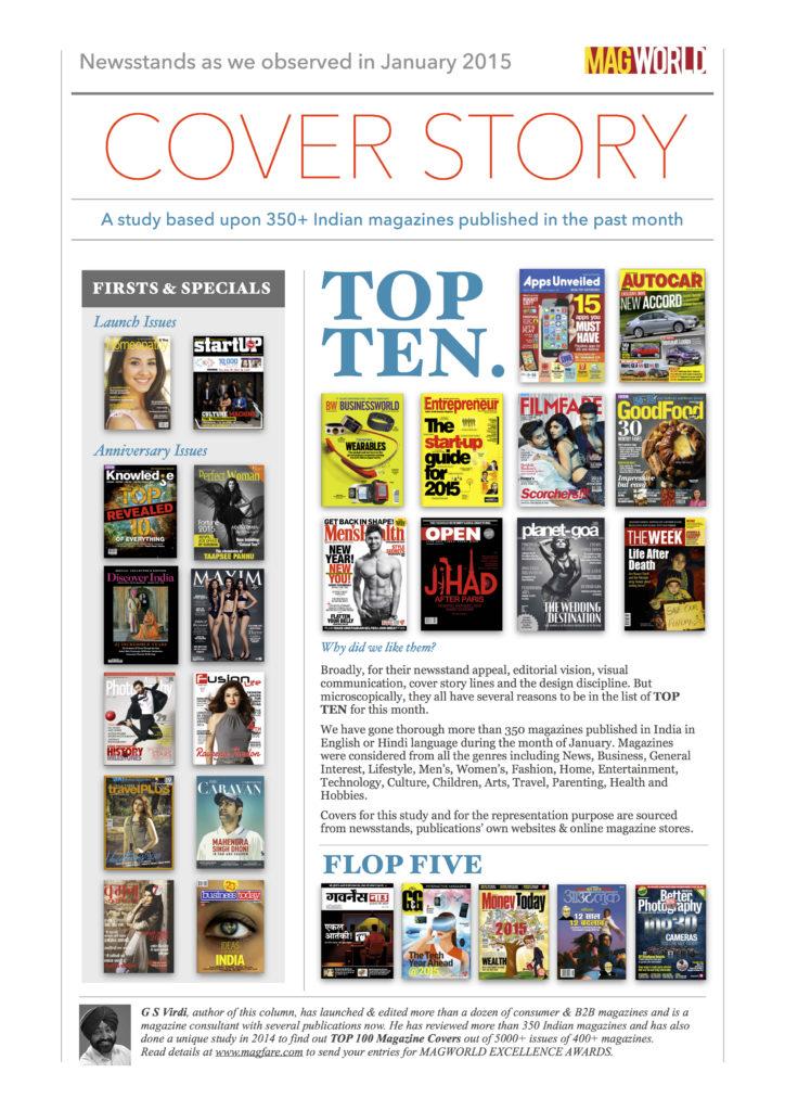 Top Ten Covers of Jan 2015