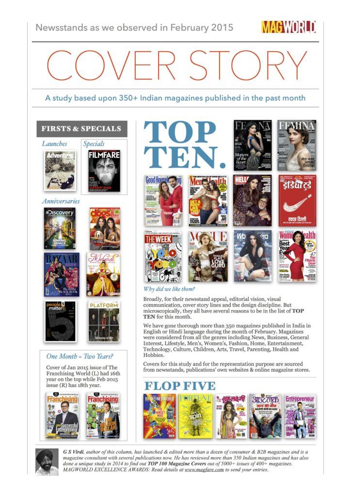Top Ten Covers of Feb 2015